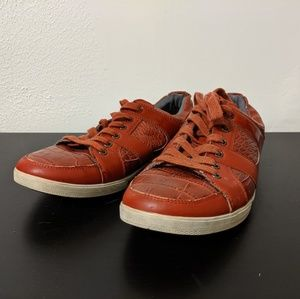 Red ALDO sneakers